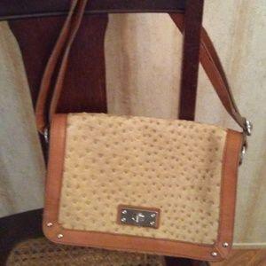 Merona Beige Handbag